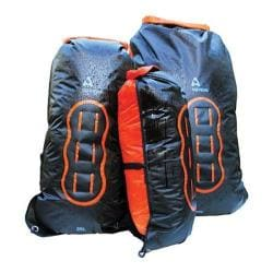 Aquapac 25L Noatak Wet/Drybag Cool Grey/Black/Orange