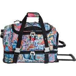 Athalon 21in Equipment Duffel with Wheels Graffiti