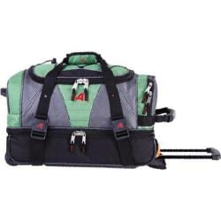 Athalon 21in Equipment Duffel with Wheels Green Grass