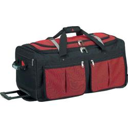 Athalon 22in Wheeling Duffel Red