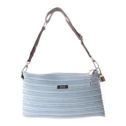 Women's BAM BAGS The Original Zippurse Handbag Powder Blue