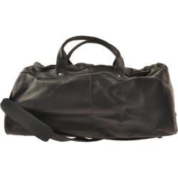 David King Leather 300 Duffel Bag Black