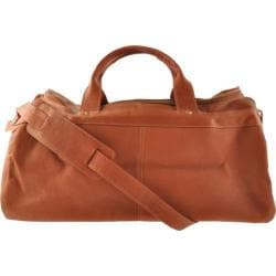 David King Leather 300 Duffel Bag Tan