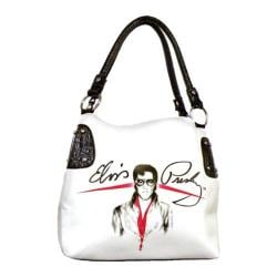 Women's Elvis Presley Signature Product EL2835 White