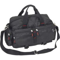 Casual Cotton Satchel Bag Black