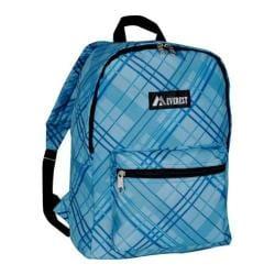 Everest Pattern Blue Plaid Backpack
