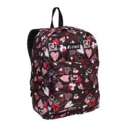 Everest 16-inch Hearts Pattern Printed Backpack