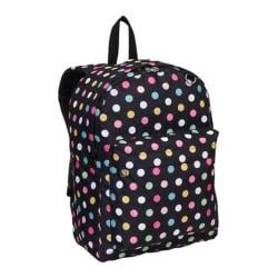 Everest Polka Dot Pattern Printed Backpack