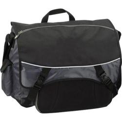 G-Tech Grey/Black Music Laptop Messenger Bag
