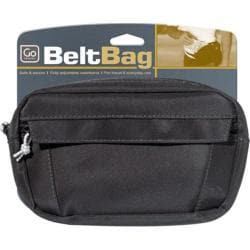 Go Travel Belt Bag (Set of 3) Black