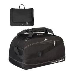 High Sierra 20in Pack-N-Go Fold Out Toiletry Duffel Black