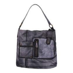 Women's Latico Winnie Shoulder Bag 3401 Grey Leather