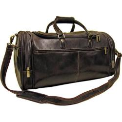 LeDonne DS-504 Chocolate 21-inch Carry On Travel Duffel Bag