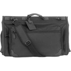 Mercury Luggage Executive Series Tri-Fold Garment Bag Black