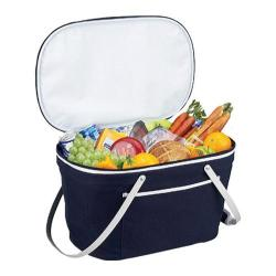 Picnic at Ascot Collapsible Insulated Basket Blue