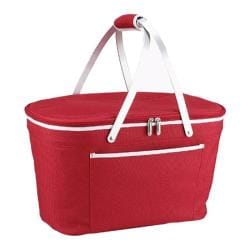 Picnic at Ascot Collapsible Insulated Basket Red