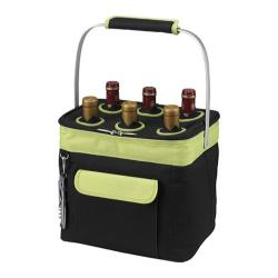 Picnic at Ascot Multi Purpose Drinks Carrier Black/Apple
