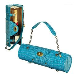 Women's Wine Carrier/Purse Turquoise