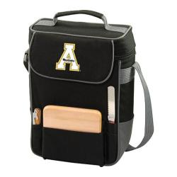 Picnic Time Duet Appalachian State Mountaineers Embroidered Black/Grey 11240415