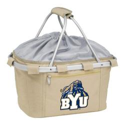 Picnic Time Metro Basket BYU Cougars Embroidered Tan 11240539