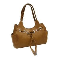 Women's Piel Leather Braided Hobo 2748 Saddle Leather