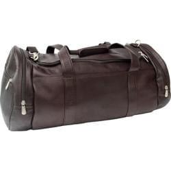 Piel Leather Gym Bag 9520 Chocolate Leather