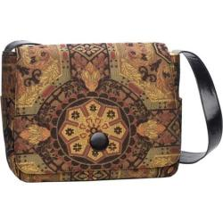 Women's Soapbox Bags Moppet Messenger Bag Gold Brocade