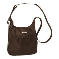 Travelon Anti-Theft Essential Messenger Bag Chocolate