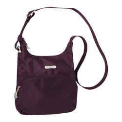 Travelon Anti-Theft Essential Messenger Bag Purple