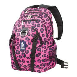 Wildkin Pink Leopard Serious 15-inch Laptop Backpack