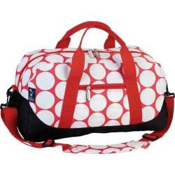 Wildkin Big Dot Red & White Kids' Duffel Bag