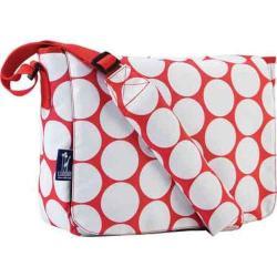 Wildkin Big Dot Red & White Kickstart Messenger Bag