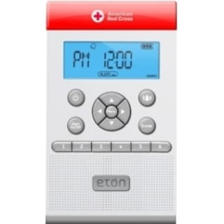 American Red Cross ZoneGuard Clock Radio - Mono