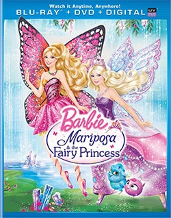 Barbie Mariposa & the Fairy Princess (Blu-ray/DVD) 11273898