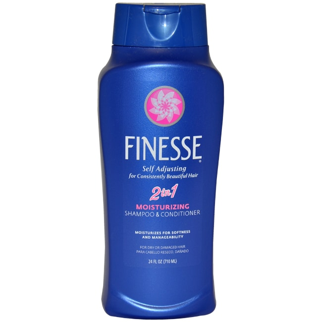Self Adjusting 2 in 1 Moisturizing Shampoo and Conditioner by Finesse for Unisex - 24 oz Conditioner