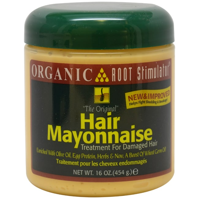 Organic The Original Hair Mayonnaise Treatment for Damaged Hair 16-ounce Conditioner