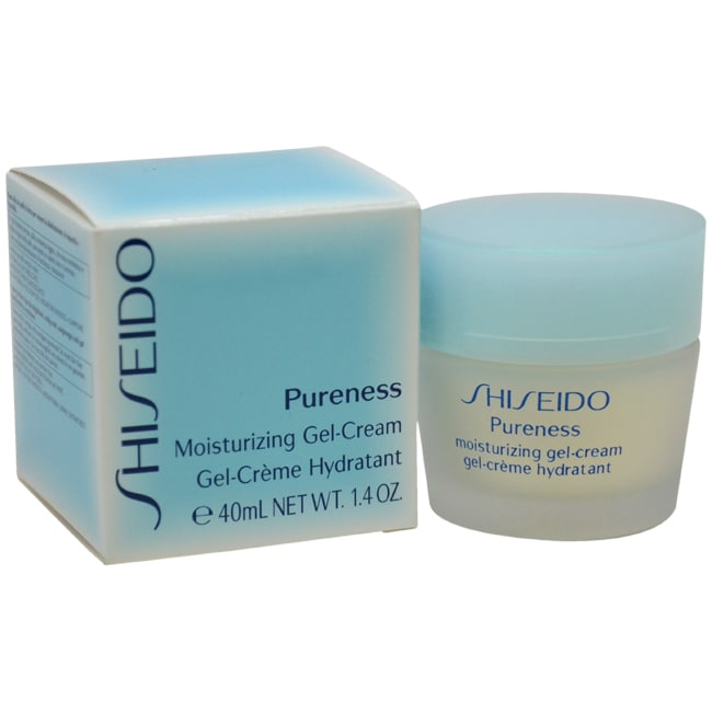 Pureness Moisturizing Gel Cream by Shiseido for Unisex - 1.3 oz Gel Cream