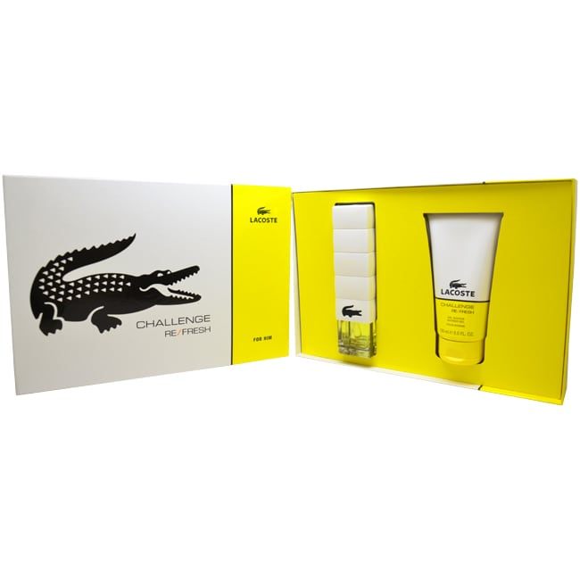 Lacoste Challenge Refresh Men's 2-Piece Gift Set