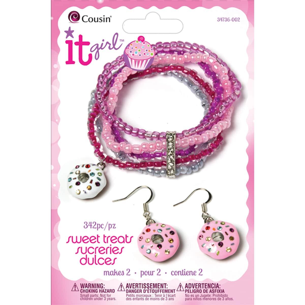 It Girl Jewelry Kits-Donut 342 Pieces