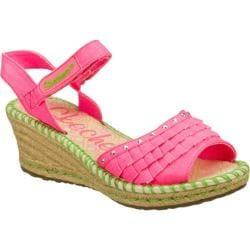 Girls' Skechers Tikis Ruffle Ups Neon Pink