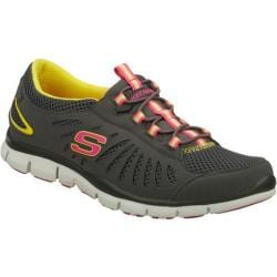 Women's Skechers Gratis Big Idea Charcoal/Yellow