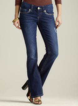 Seven7 Petite Bootcut Jean