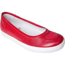 Girls' MUPS Carley Red Leather