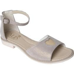 Girls' MUPS Sandy Nude/Gold Leather
