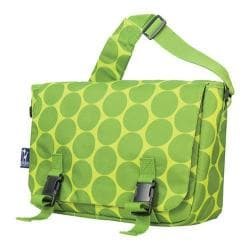 Wildkin Big Dots Green Jumpstart 15-inch Laptop Messenger Bag