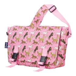 Wildkin Horses in Pink Jumpstart 15-inch Laptop Messenger Bag