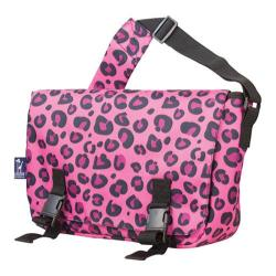 Wildkin Jumpstart Pink Leopard Messenger Bag