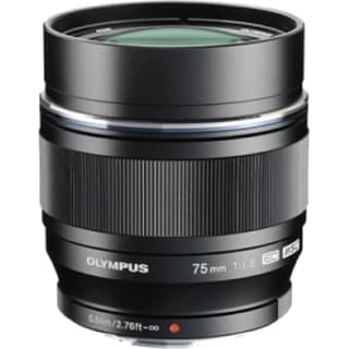 Olympus M.ZUIKO DIGITAL 75 mm f/1.8 Telephoto Lens for Micro Four Thi