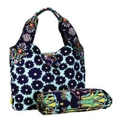 Women's Amy Butler Tulip Diaper Bag Poppy Flower Navy