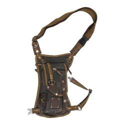 Women's Laurex Lap Pack/Waist Pack Fanny Bag Black
